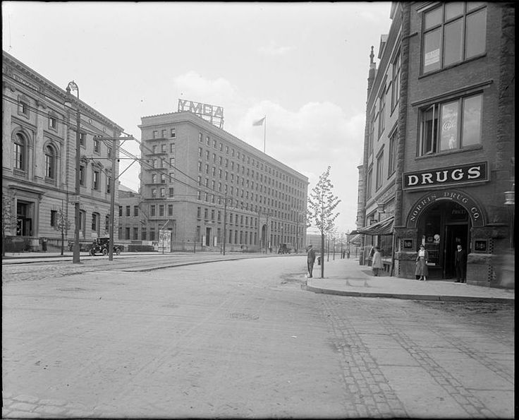 YMCA, Boston, 1920 Historic and Around the World Y's