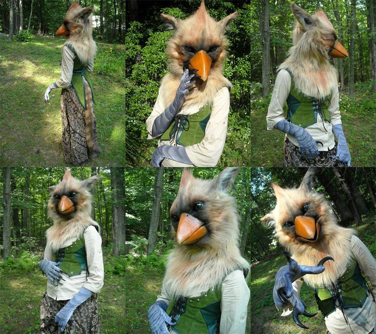 gryphon costume. love the gloves
