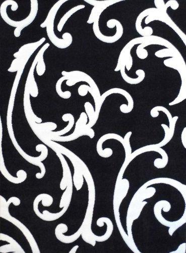 Modern Area Rug Design # H 290 Black (8 Feet X 10 Feet 6 Inch) by Hollywood, http://www.amazon.com/dp/B00D38RLV2/ref=cm_sw_r_pi_dp_YWi4rb12G3QCW