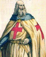 Jacques DeMolay, the namesake of the Order of DeMolay was born in, France in 1244. At 21, DeMolay joined the Order of Knights Templar.  The Knight's Templar were founded in 1118, when nine nights took vows to protect Jerusalem and the Holy Lands, recently captured by the first crusade.
