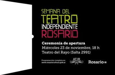 Santa Fe: Rosario festeja la Semana del Teatro Independiente.