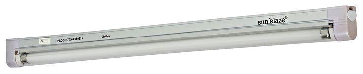 Sun Blaze T5 High Output Fluorescent Strip Light 960315 24 Inch 1 tube 2 ft