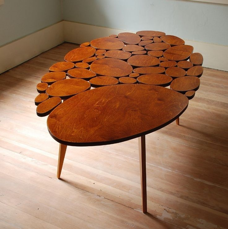 Circle Coffee Tables by Michael ArrasMid Century Modern, Coffe Tables, Coffee Tables, Wood Furniture, Tables Design, Wood Design, Round Tables, Wooden Tables, Accent Tables