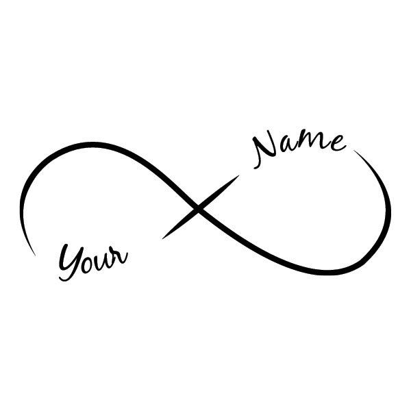Tattoo Word Generator: Design Your Own Infinity Tattoo