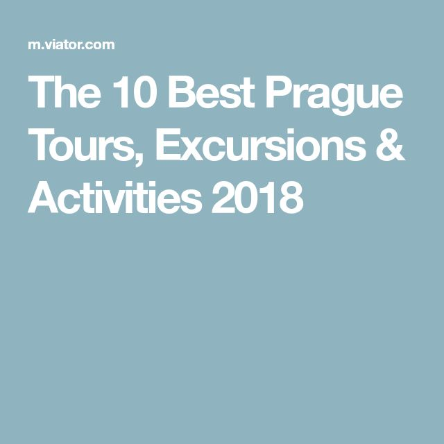 The 10 Best Prague Tours, Excursions & Activities 2018