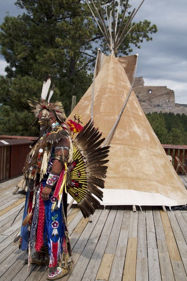 Indian Full Dress at Crazy Horse Memorial 2013 by Rodney Brown on 500px