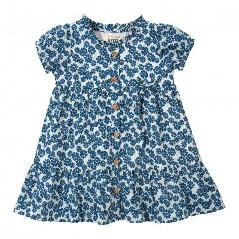 organic cotton dress daisy front