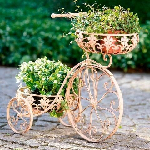 Bicycle with flowers - Little Piece Of Me