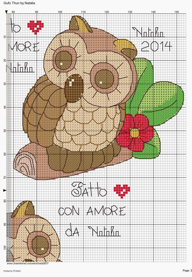 Oltre 25 fantastiche idee su schemi di animali all for Ape punto croce schema