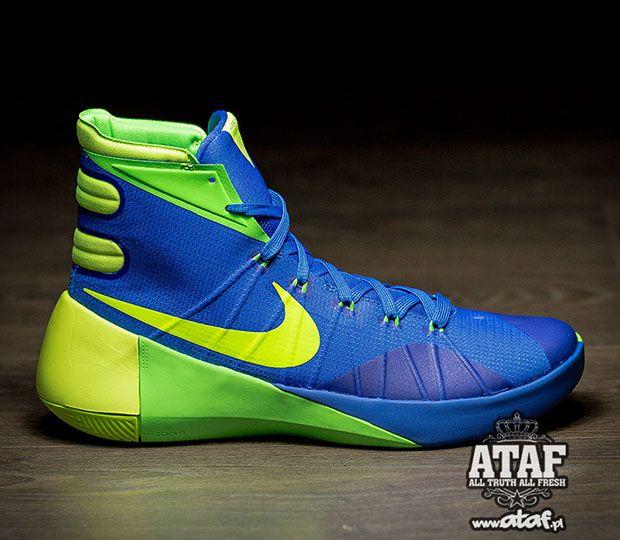 Big Discount Nike Hyperdunk 2015 Cheap sale Blue Green Volt