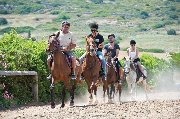 Horseriding, Paros Cyclades, Greece