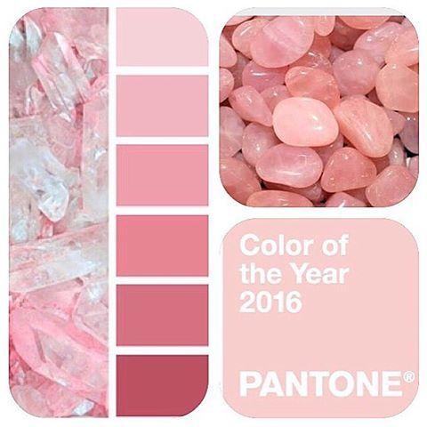Pantone escolheu Rose Quartz como a cor do ano de 2016.  O Rosa quartzo é um tom…