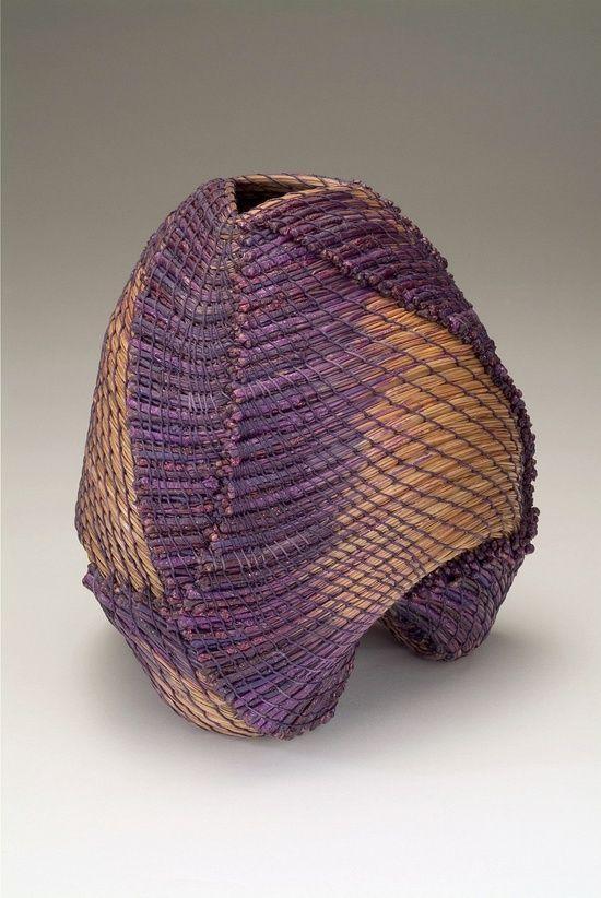 Clay Burnette - 'Purple Tripod' Pine needle