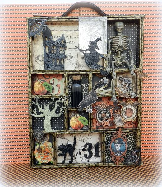 Solange Marques's Gallery: Halloween configuration box