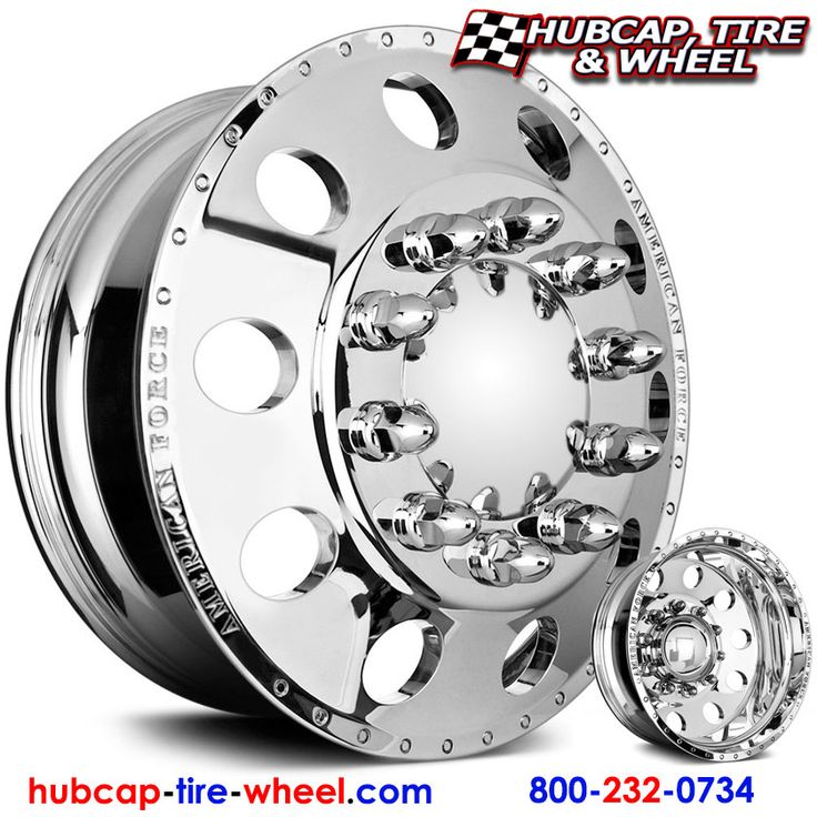 American Force Classic Dually Wheels & Rims - Polished (not chrome)