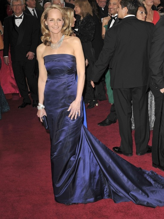 Helen Hunt and her H Oscar dress. Would you guess?