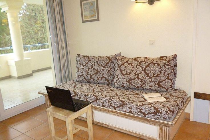 Exemple de Salon d'un appartement de la résidence Royal Park à la Baule