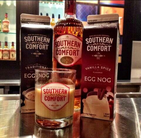 Southern Comfort Egg Nog! YumYum The perfect holiday drink ...
