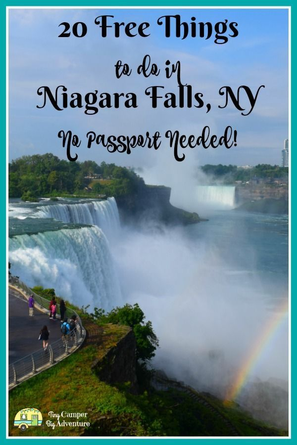 20 Free Things To Do In Niagara Falls Ny No Passport Required