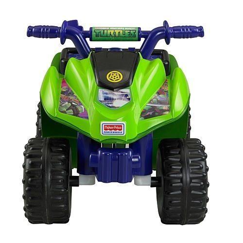 Power wheels riding toy Ninja turtles outdoor preschool kids 4 wheeler tmnt  #FisherPrice