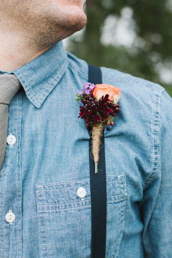Denim blue bruidegoms // Inspiratie voor je bruiloft // Rachel Whyte // Engaged.nl