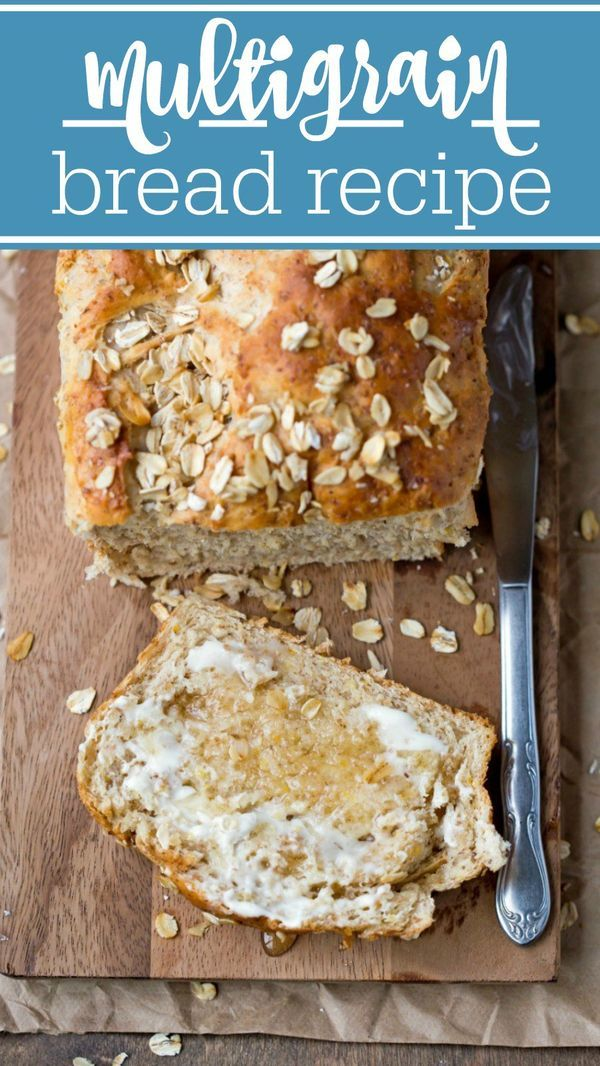 Make your own healthy multigrain bread with this wonderful recipe!