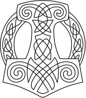 Nordic Majesty Thor's Hammer_image