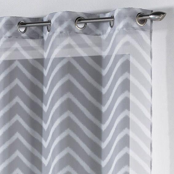 les 25 meilleures id es de la cat gorie voilage gris sur pinterest voilage blanc grands. Black Bedroom Furniture Sets. Home Design Ideas