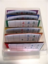 Montessori math boxes