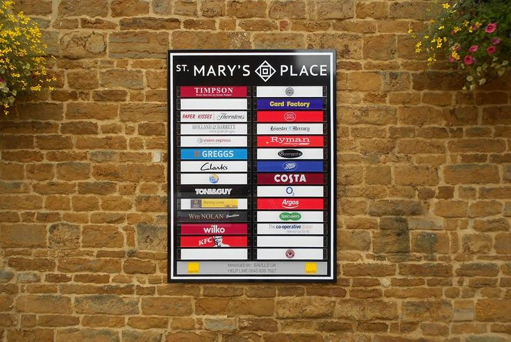 Great list of retailers in St Mary's Place