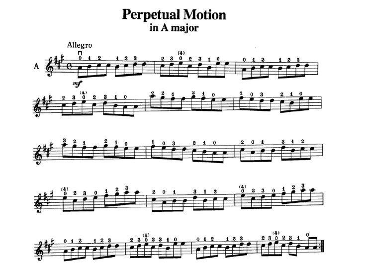 Suzuki Perpetual Motion Cello