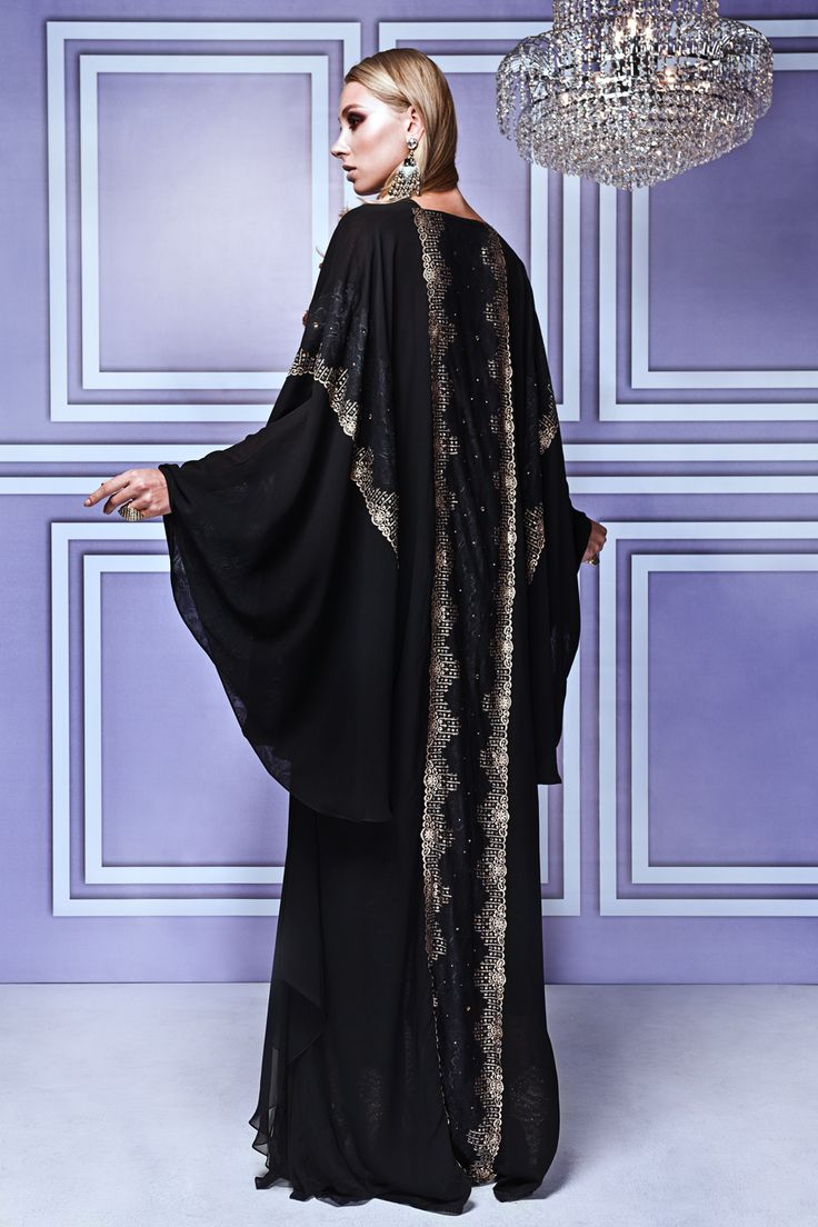 Abayas get a glittering makeover with new Malaysian high-end label