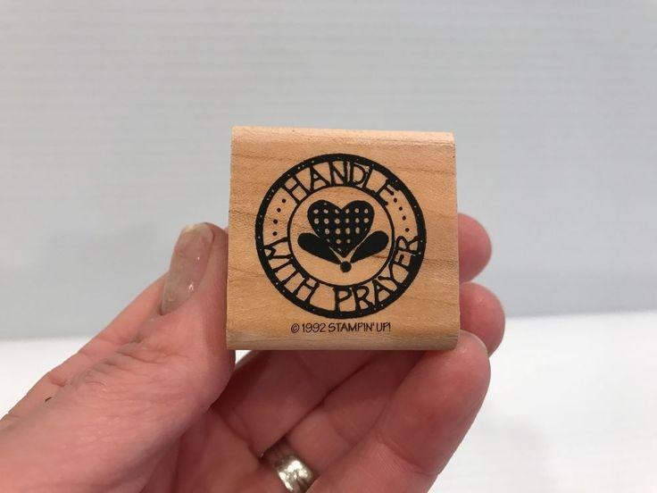 PRAYER STAMP, Religious Stamp, Sunday School stamp, Scrapbook stamp, Stampin' Up #StampinUp