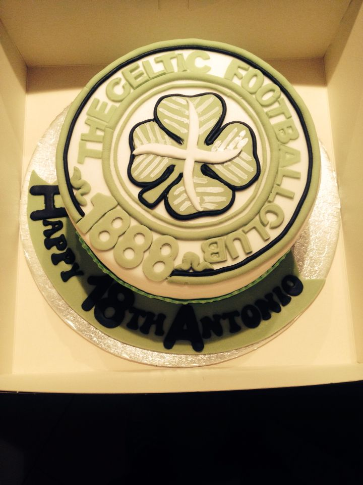 Celtic Themed Birthday Cake