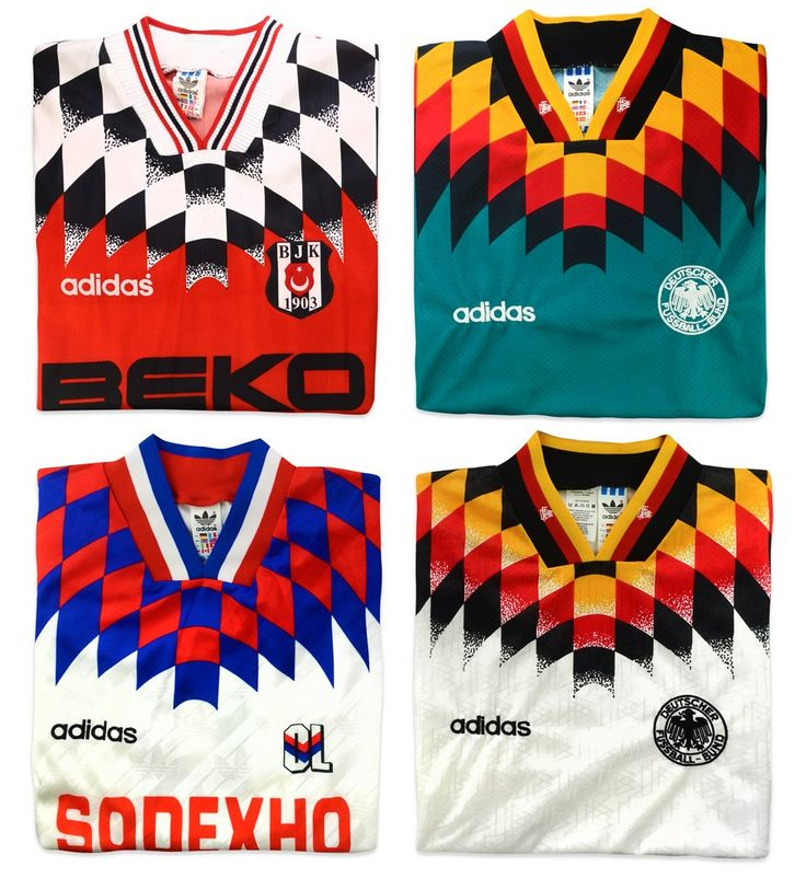 Adidas template 1994  Who else wore this design?