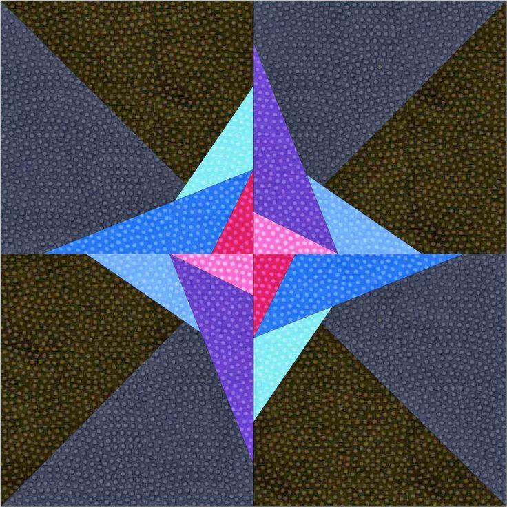 110 best Quilt Blocks - Paper Piecing - Stars images on ...