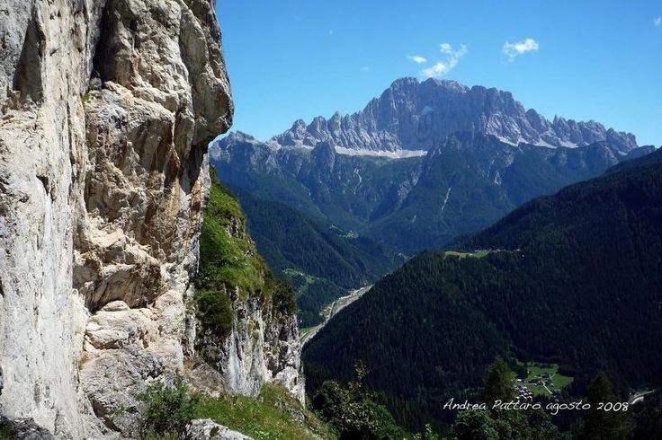 DOLOMITI, ITALIA. Laste, Monte civetta