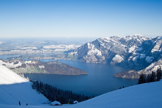 This photo was taken on January 3, 2010 in Klewenalp,Canton of Nidwalden,CH,