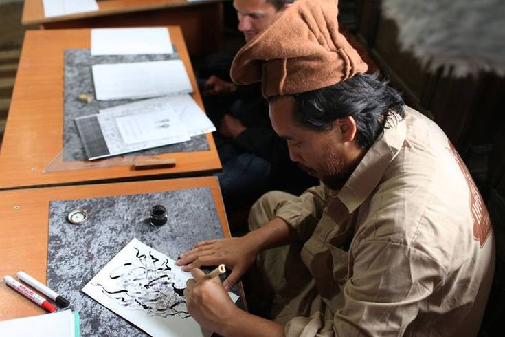 David choe and estevan oriol travel to afghanistan with