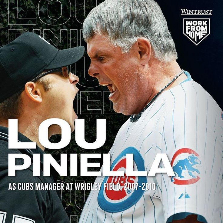 Sweet Lou always managed to put on a show at Wrigley Field
