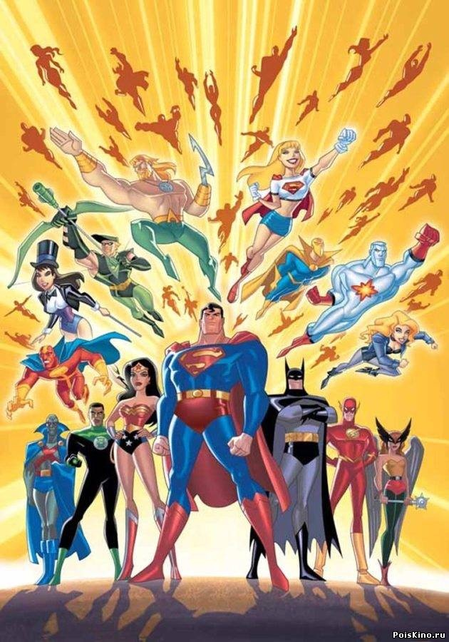 One (or is it two?) of my favorite cartoons of all time Justice League (and Justice League Unlimited).