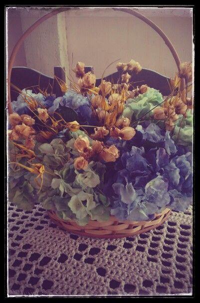 Arranjo Flores Secas