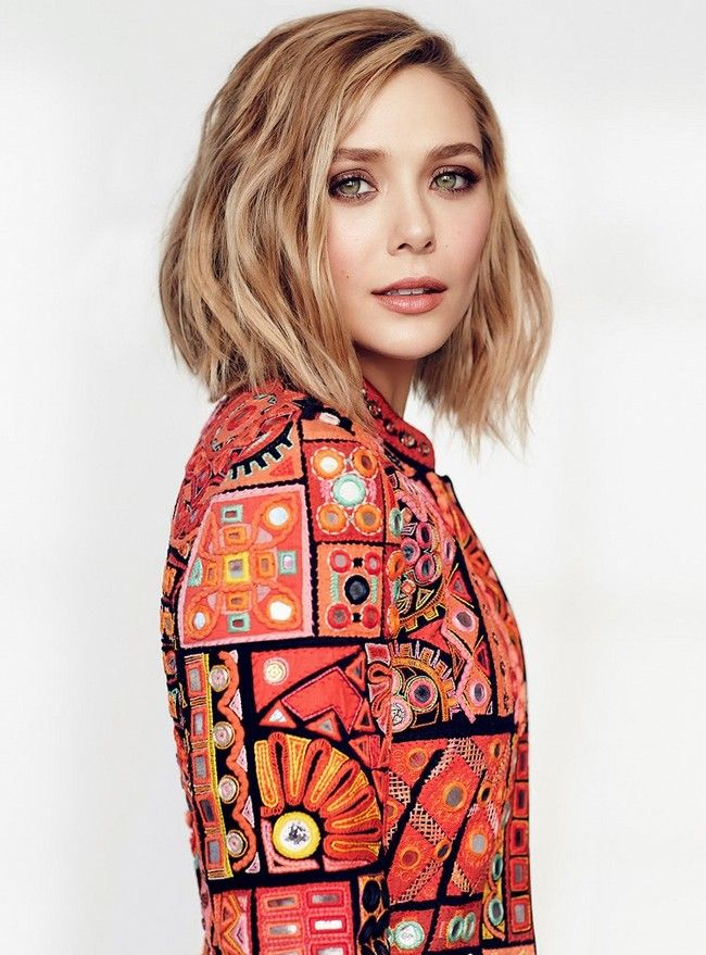 Elizabeth Olsen for Fashion, May 2015