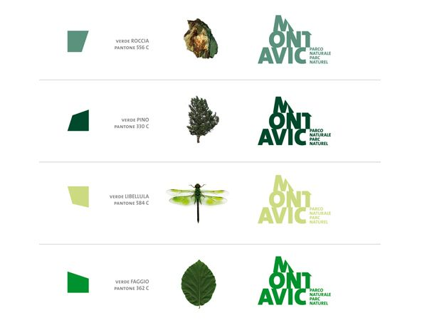 Natural Park Brand Identity on the Behance Network