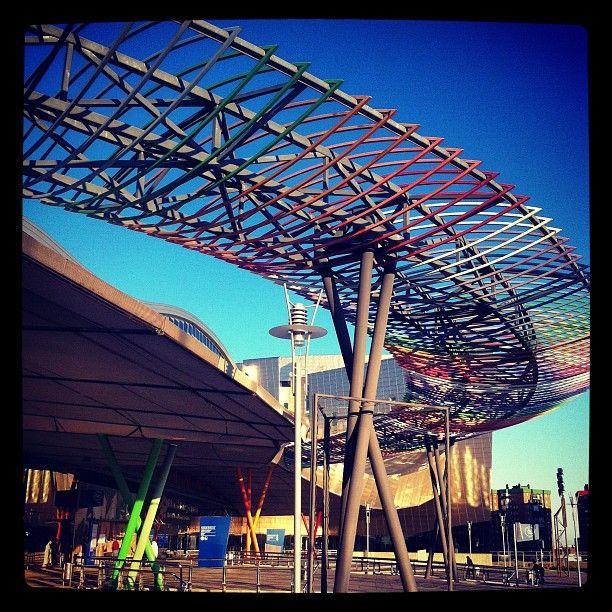 Palacio de Ferias y Congresos de Málaga (FYCMA) en Málaga, Andalucía