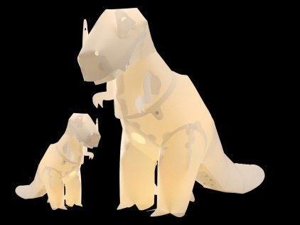 GIANT T-Rex Dinosaur Lamp