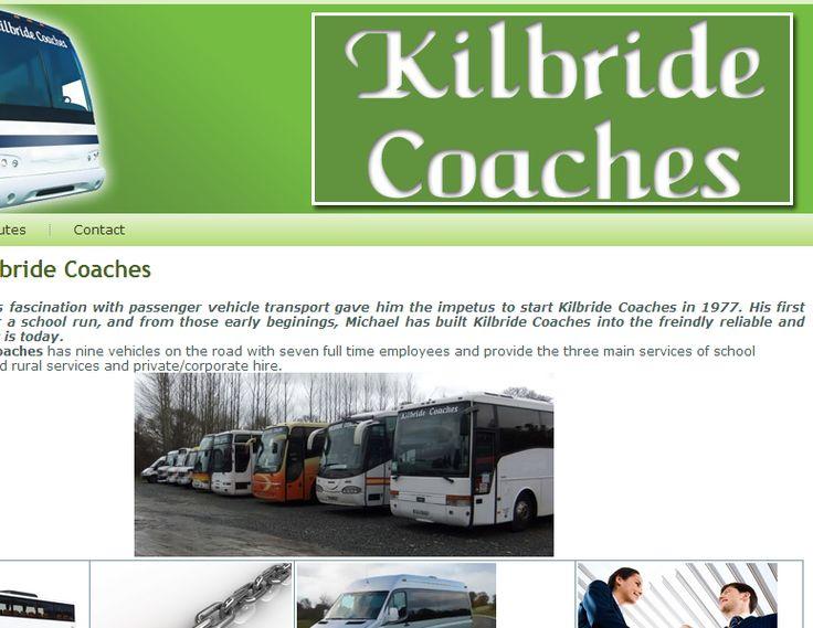 Kilbride Coaches - Web development - Brand You