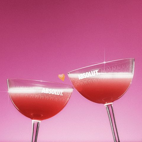 New party member! Tags: love heart romantic valentine drinks valentines cosmopolitan absolut vodka absolut cosmo