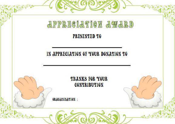 22 best donation certificate templates images on pinterest certificate templates cover letter. Black Bedroom Furniture Sets. Home Design Ideas