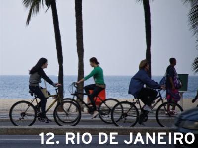 12. Rio de Janeiro, Brazil